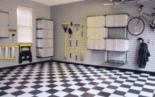 Инновационное напольное покрытие для склада