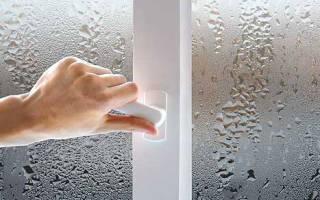 Потеют пластиковые окна в квартире что делать
