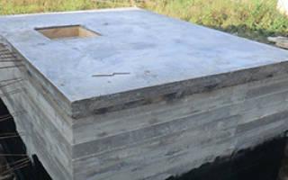 Погреб из бетона своими руками
