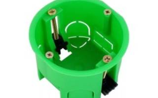 Коробка монтажная для розеток и выключателей
