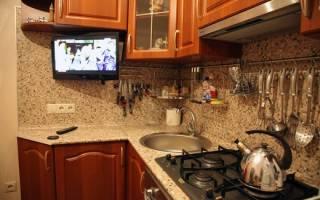 Крепление рейлингов на кухне