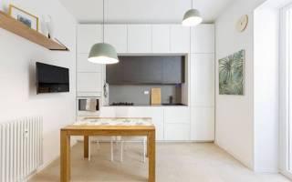 Кухня белого цвета в интерьере фото