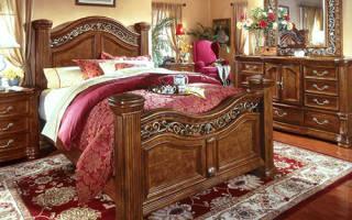 Спальни в английском стиле фото