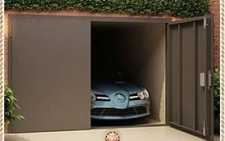 Изготовление гаражных ворот металлических