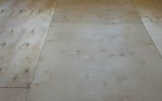 Как приклеить линолеум к деревянному полу