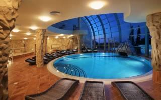 Дизайн бассейна в частном доме фото