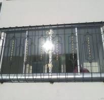 Кованые решетки на балкон