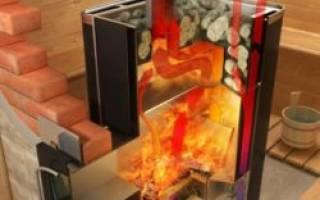 Печи для бани на дровах длительного горения