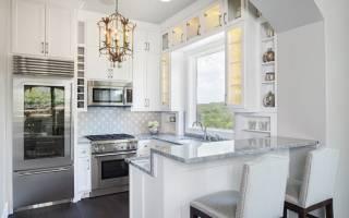 Барные стойки на кухне фото