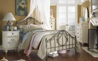 Стиль прованс в спальне фото