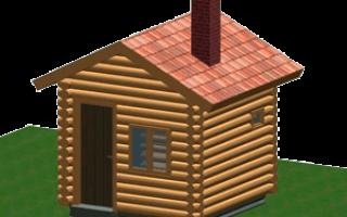 Как построить маленькую баню своими руками?