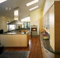 Проходная кухня в квартире
