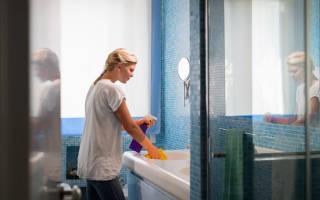Избавиться от грибка в ванной