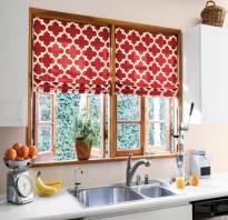 Образцы штор на кухню