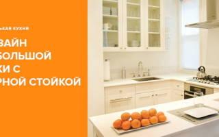 Маленькие кухни с барной стойкой дизайн фото