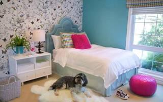 Спальни для подростков девочек фото