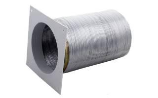 Гофра металлическая для вытяжки