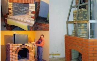 Как построить камин на даче своими руками?