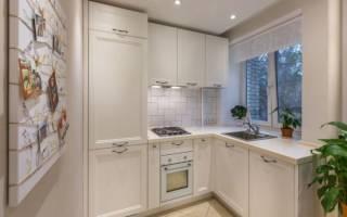 Кухонная мебель для маленькой кухни фото хрущевка
