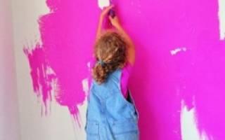 Акриловая краска для стен и потолков моющаяся