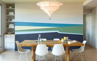 Декоративная покраска стен водоэмульсионной краской фото
