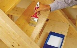 Краска для ступеней деревянной лестницы