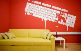 Рисуем на стене в квартире своими руками