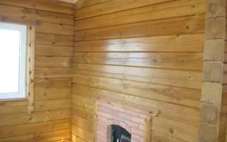 Чем покрыть деревянные стены внутри дома
