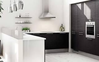 Шторы для черно белой кухни фото