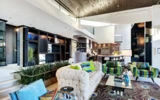 Как оформить гостиную в частном доме?