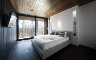 Спальни в стиле хай тек фото