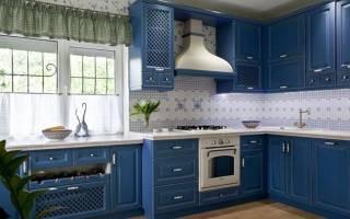 Оформление кухни в стиле прованс фото