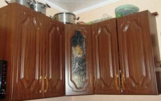Высота навесных шкафов на кухне