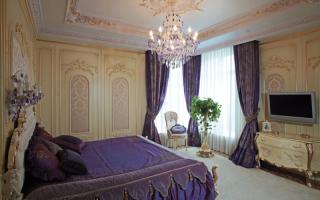 Спальни в стиле барокко фото