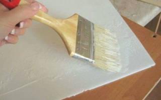 На что клеить потолочную плитку из пенопласта