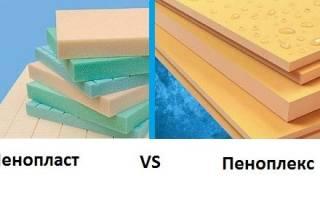 Пенопласт и пеноплекс в чем разница