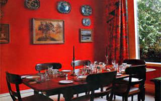 Кухни в красном цвете фото