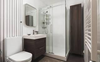 Ванные комнаты с душевыми кабинами дизайн фото