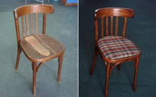 Как отреставрировать старый стул своими руками