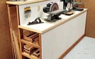 Полки для инструментов своими руками