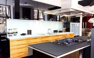 Стиль модерн в интерьере кухни фото
