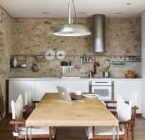 Отделка стен на кухне фото