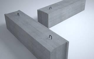 Размеры блоков ФБС для фундамента ГОСТ
