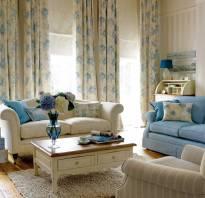 Римские шторы в стиле прованс