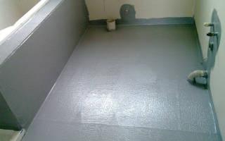 Как выровнять бетонный пол под плитку