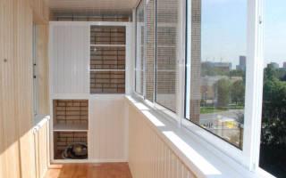 Варианты отделки балкона внутри фото