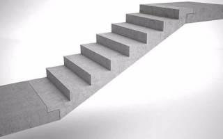 Ступени для лестниц из бетона сборные