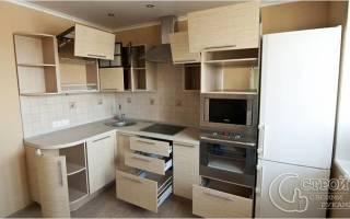 Как собирать кухонный гарнитур?