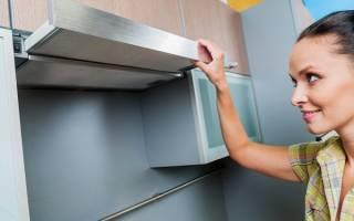 Как очистить вытяжку на кухне от жира