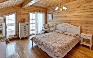 Дизайн комнат в деревянном доме фото